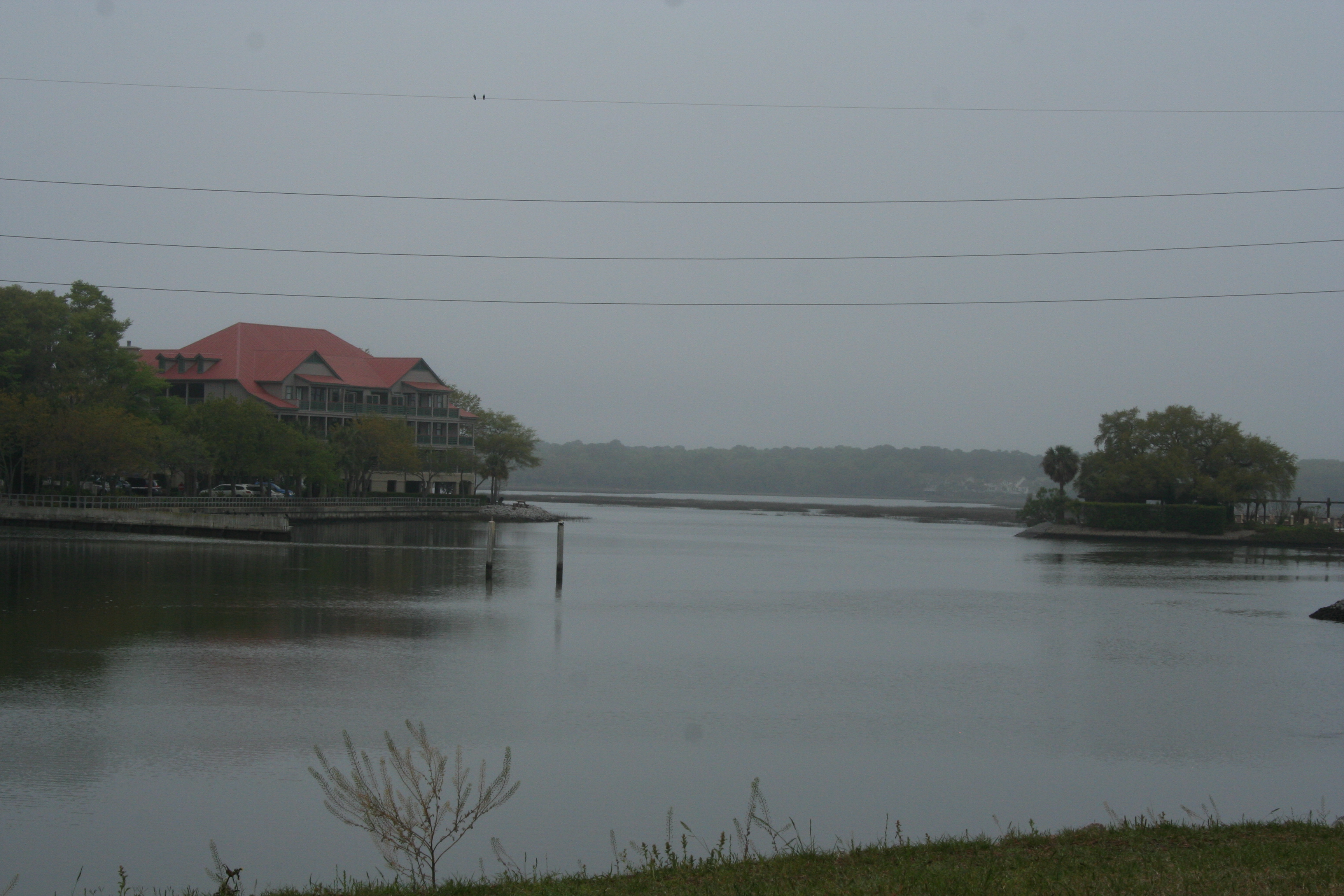 A grey morning on Hilton Head Island.